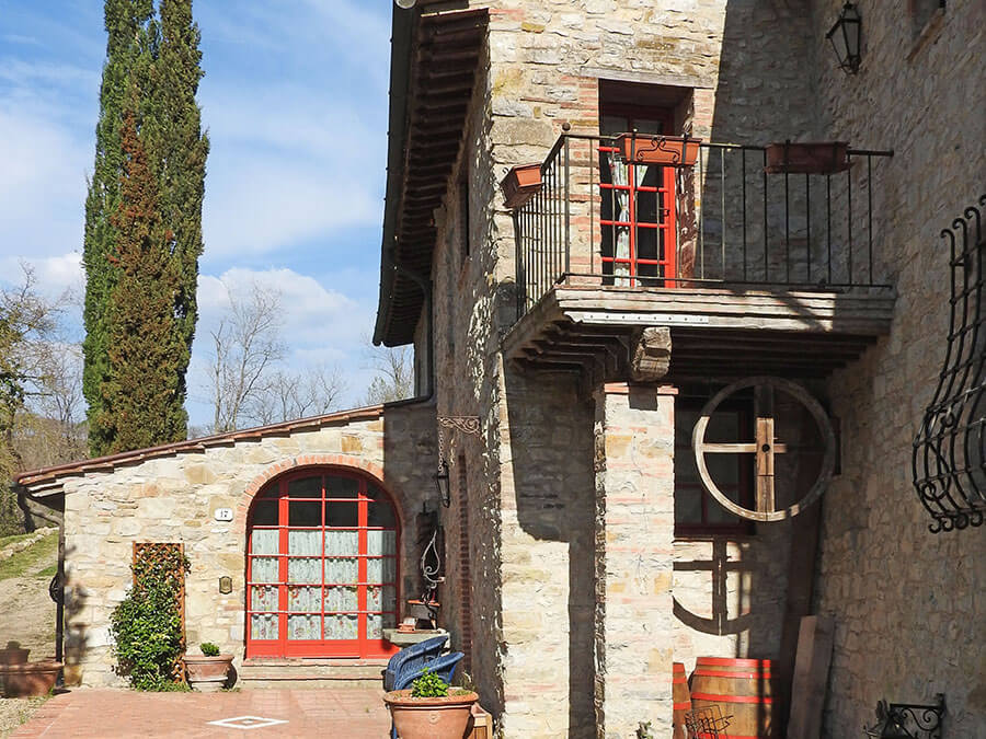 Bed and breakfast in Toscana immerso nel Chianti fiorentino